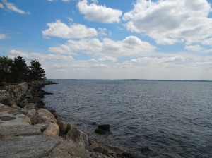 The Long Island Sound by Flagler Drive